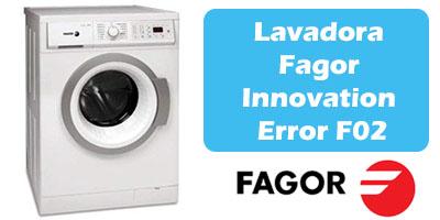 Lavadora Fagor Error F02