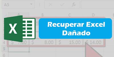 Recuperar Excel Danado Gratis Online