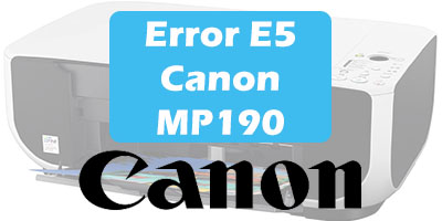 Error E5 Canon MP190