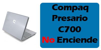 Compaq Presario C700 no enciende