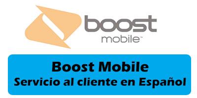 Boost Mobile Servicio al cliente en Español