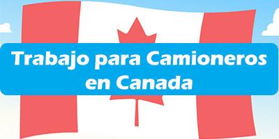 trabajo para camioneros en canada, Trabajo para conductores en Canada  - Empleos