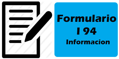 Formulario I-94 para imprimir