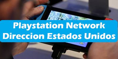 Playstation Network Direccion Estados Unidos
