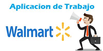 Walmart Aplicacion de Trabajo en Español