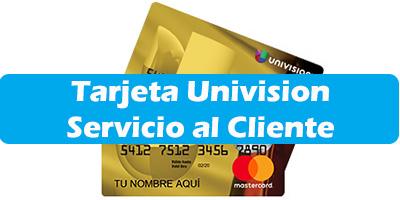 Tarjeta Univision Mastercard Prepagada Servicio al Cliente