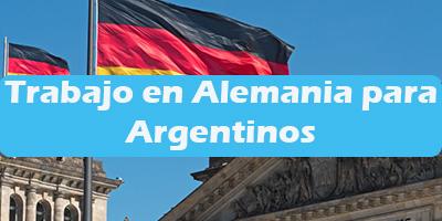 Empleos para Argentinos en Alemania Oferta de Trabajos Vacante