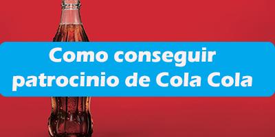 Quiero Vender Coca Cola en mi Negocio Como conseguir patrocinio