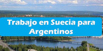 Trabajo en Suecia para Argentinos Oferta de Empleos