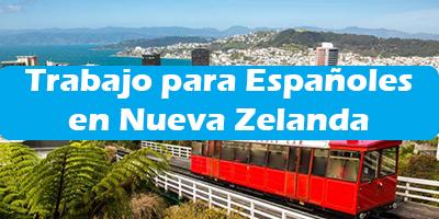 Trabajo para Españoles en Nueva Zelanda 2019 Oferta de Empleos Sin Idioma