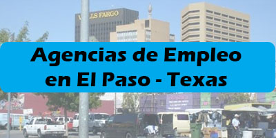 agencias de empleo en el paso texas