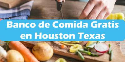 Banco de Comida Gratis en Houston Texas  Ayuda alimenticia