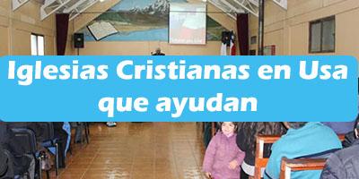 Iglesias Cristianas en Estados Unidos que Ayudan Informacion