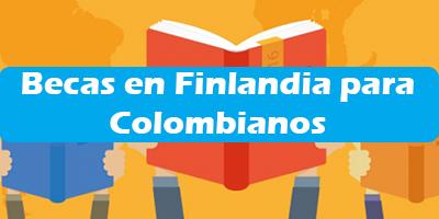 Becas en Finlandia para Colombianos 2019