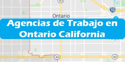 Agencias de Trabajo en Ontario California - Oficina de Empleo