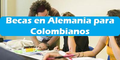 Becas en Alemania para Colombianos  Requisitos