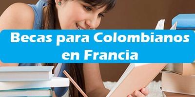 Becas para Colombianos en Francia Programas de Estudios