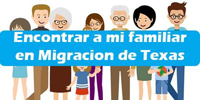 Como Encontrar a mi familiar en Migracion de Texas 2020 Pasos
