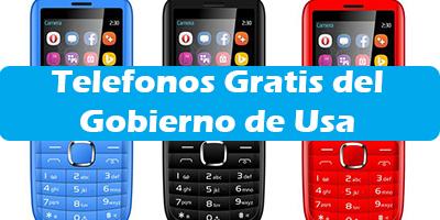 Telefonos Gratis del Gobierno Safelink  Estados Unidos