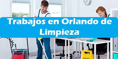 Trabajos en Orlando Florida de Limpieza Empleos