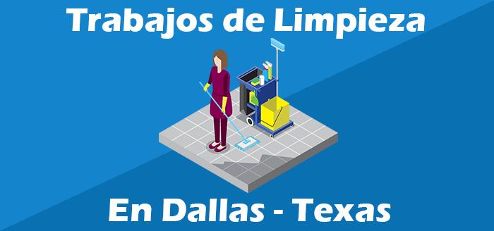 trabajos de limpieza de casa oficinas en dallas texas