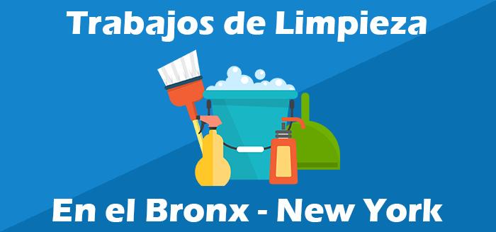 trabajos de limpieza en el bronx new york