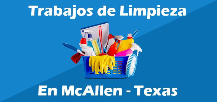 trabajos de limpieza en mcallen texas empleos