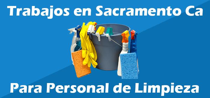 Trabajos de Limpieza en Sacramento California Oficinas